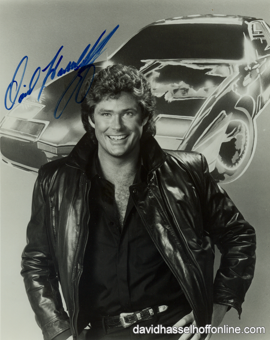 Rider Fan Photos Autographed Knight Rider Photo