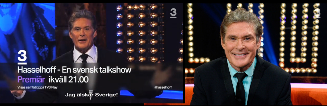 Watch Episodes 1-7 of David's Swedish Talk Show Online!