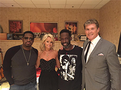 With Boyz II Men In Vegas