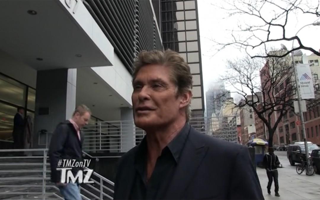 Watch David's Interview With TMZ TV