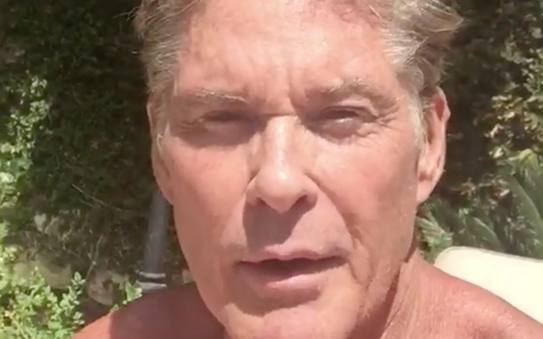 Join David Tonight 10 PM UK Time Live On FaceBook – Tune In To Hoff The Record On DAVE