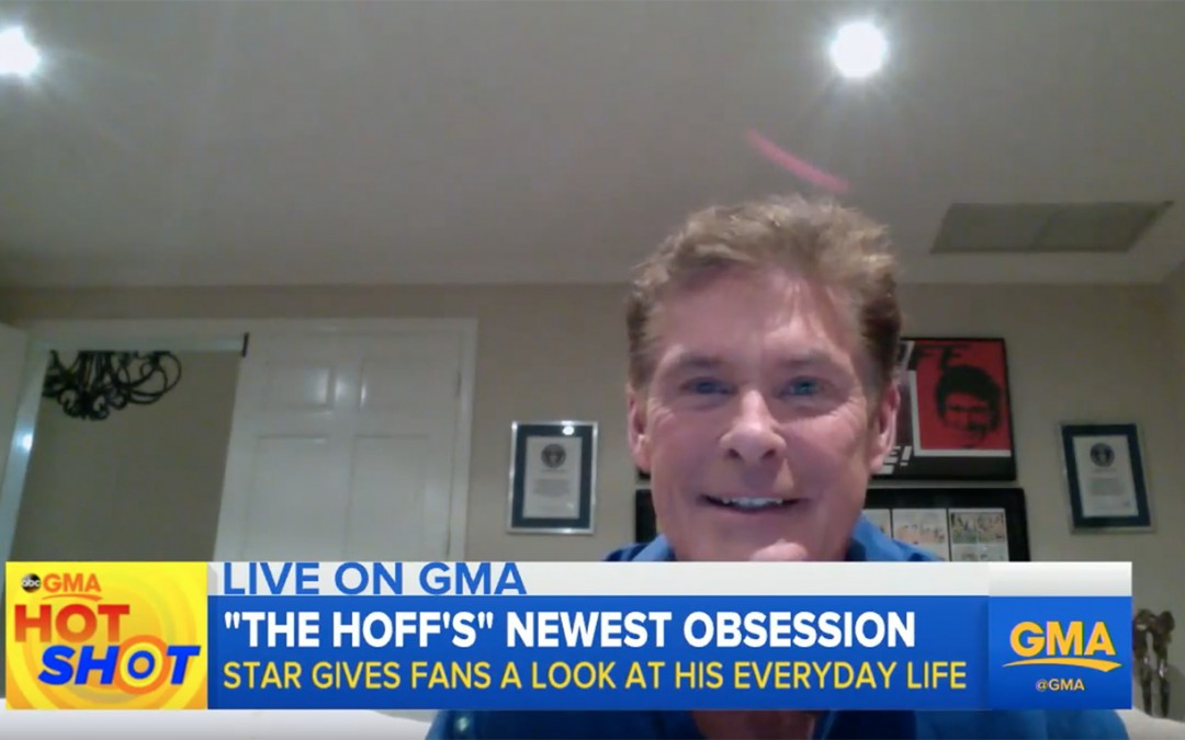 Watch David's Appearance On Good Morning America!