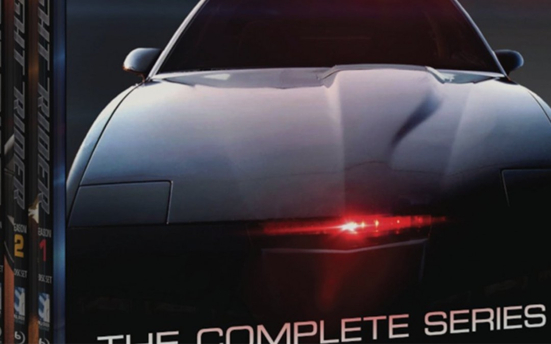 Knight Rider The Complete Series New Blu-ray & DVD Release October 4th