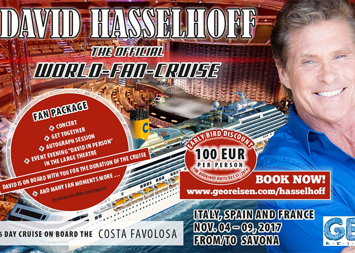 <b>NOVEMBER 4th-9th 2017 | OFFICIAL WORLD FAN CRUISE |  ITALY SPAIN FRANCE</b>