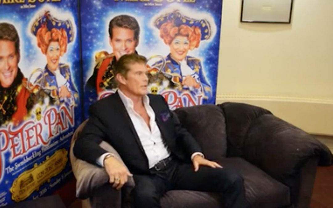 Watch David's Wales Online Interview For The Upcoming Peter Pan Panto In Cardiff