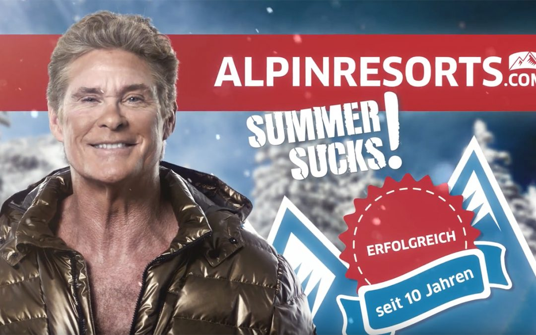 New Commercial For ALPINRESORTS.com