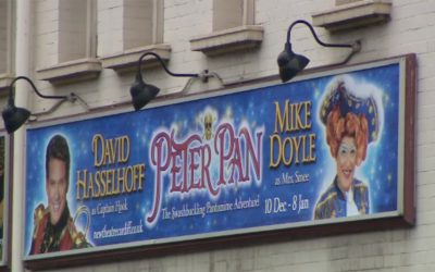 Behind The Scenes Of The Peter Pan Panto In Cardiff
