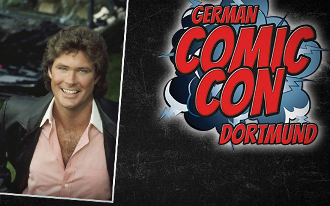 David In Dortmund For German Comic Con This Weekend