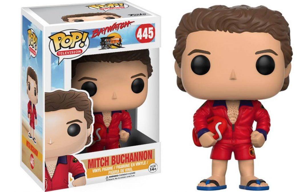 Baywatch Mitch Buchannon Funko Pop! Collectable Coming In February!