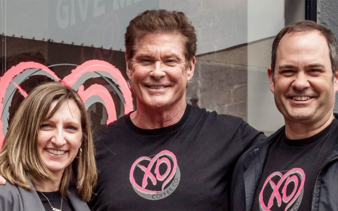 David At XO Coffee In Plano – Videos And Photos