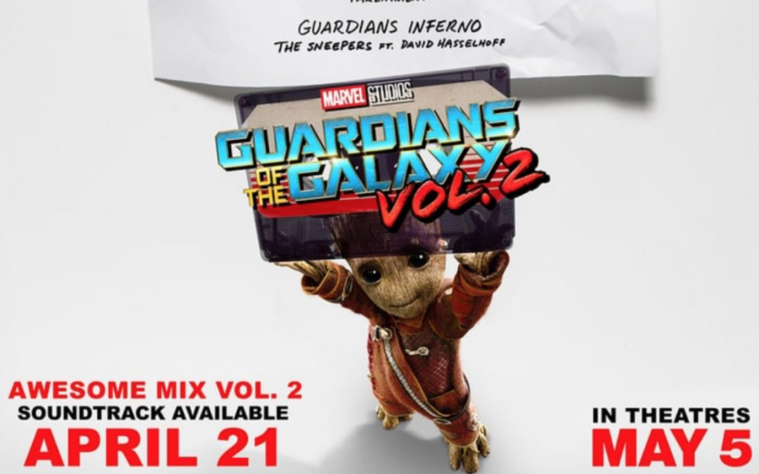 Guardians of the Galaxy Awesome Mix Vol. 2 – Guardians Inferno The Sneepers Featuring David Hasselhoff Is Out Now!