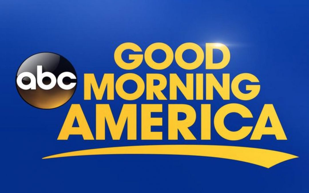 David On Good Morning America May 19th!
