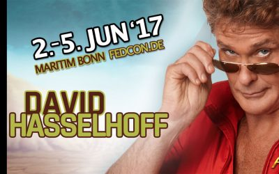 David Appearing At FedCon 26 In Bonn Germany This Weekend!