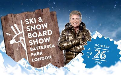 Come See David At The Ski & Snowboard Show Battersea Park London October 26th!