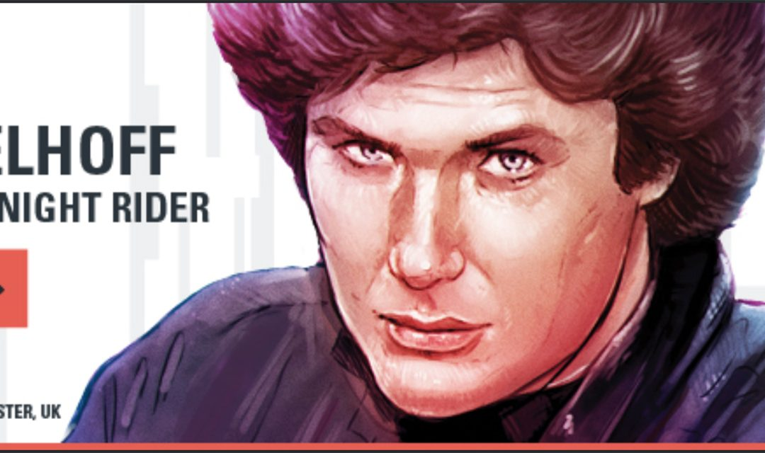 Come See David At For the Love of Sci-Fi In Manchester Dec 2nd-3rd!