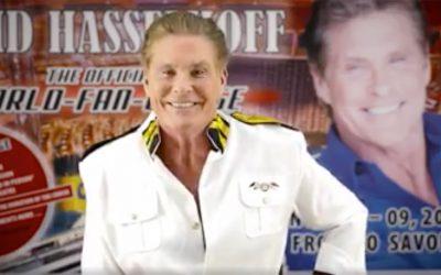 The Official David Hasselhoff World Fan Cruise Has Begun!