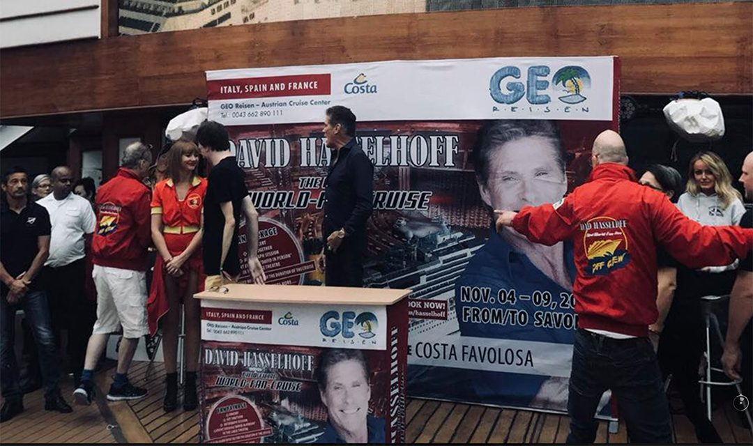 World Fan Cruise Meet And Greet With David
