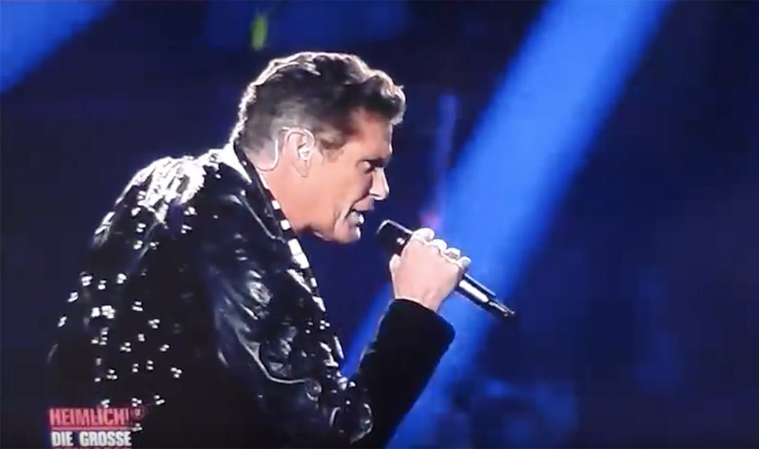 Watch David's Performance At Heimlich! Die grosse Schlager-Ueberraschung In Munich Germany