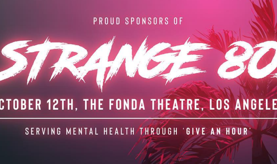 David To Perform At Strange 80s 2 October 12th In Los Angeles