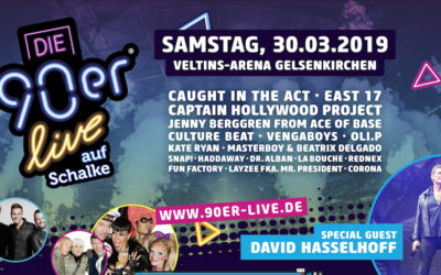 Die 90er Live March 30th – Get Tickets!