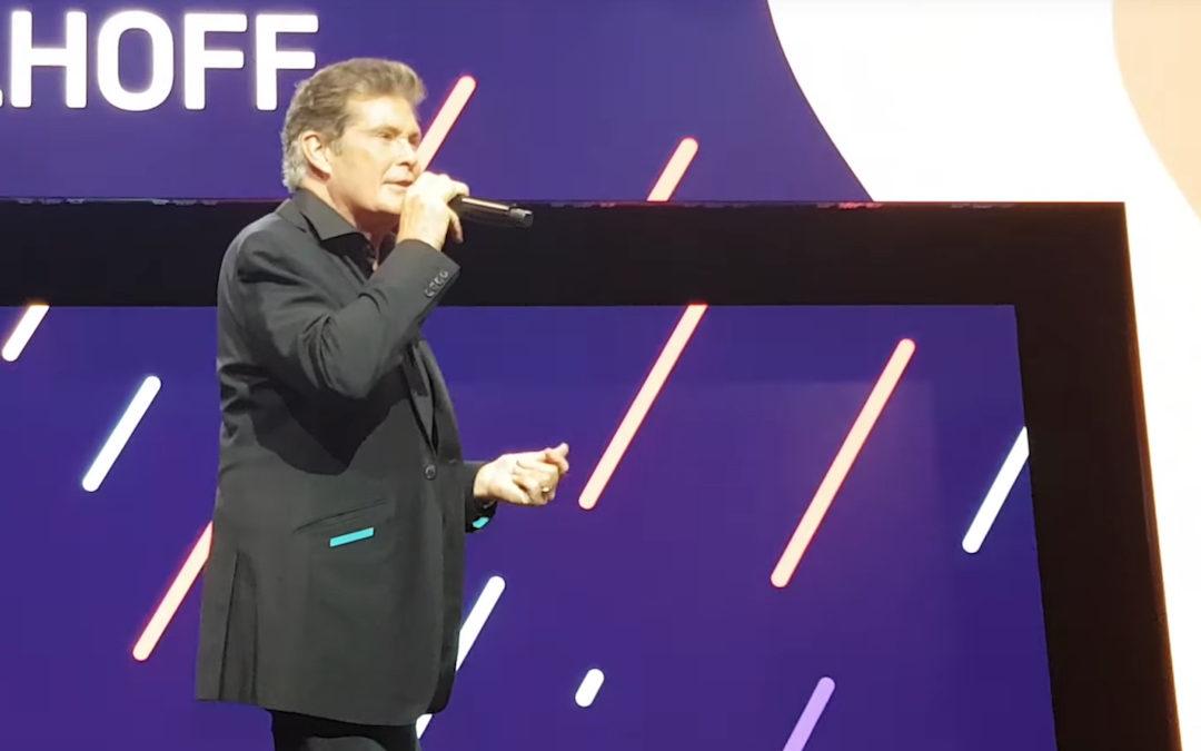 David At TwitchCon Europe 2019