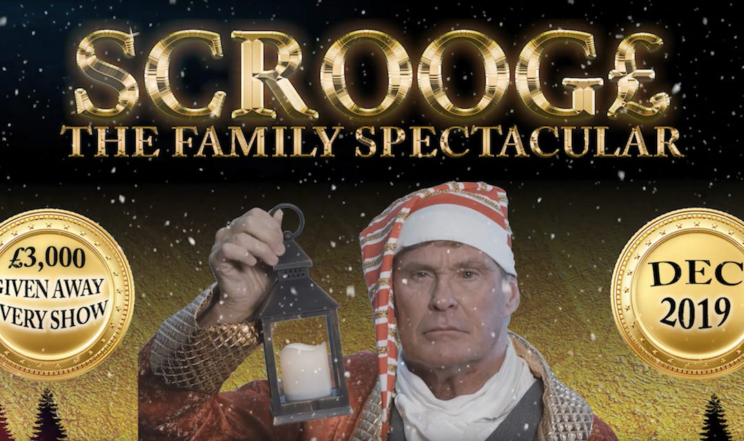 David Stars As Scrooge This December In Cardiff, Birmingham And Nottingham – Get Tickets & Watch Trailer!