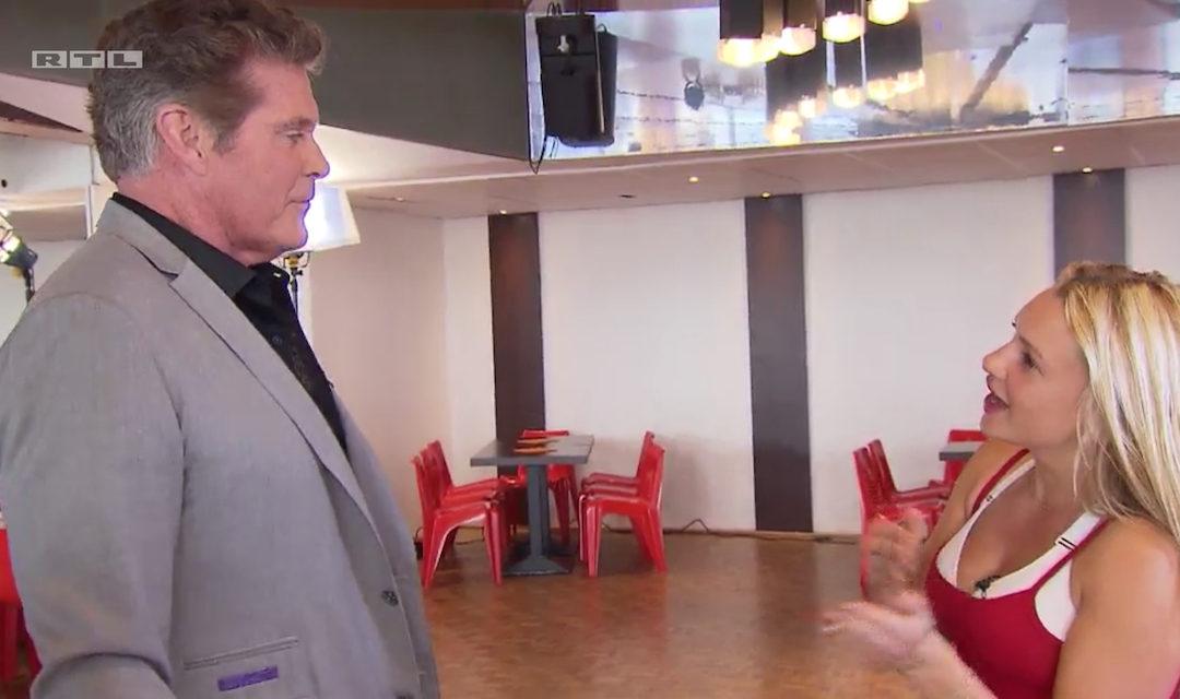 "David Surprises Evelyn Burdecki of ""Let's Dance"" – RTL"
