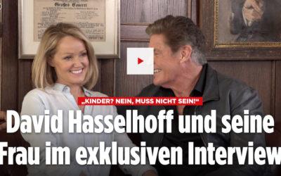 David And Hayley Interview With BILD