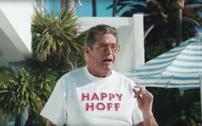 Happy Socks – Take The Summer Hoff With David Hasselhoff