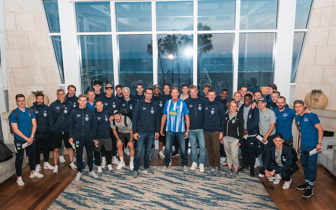 Hertha BSC Meets David In Santa Monica