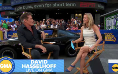 David & KITT On Good Morning America – Watch Video