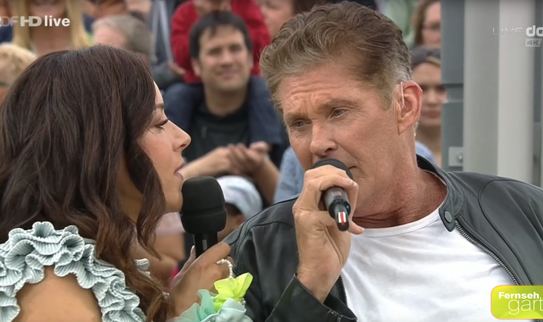 David And Blümchen Perform At ZDF Fernsehgarten Live