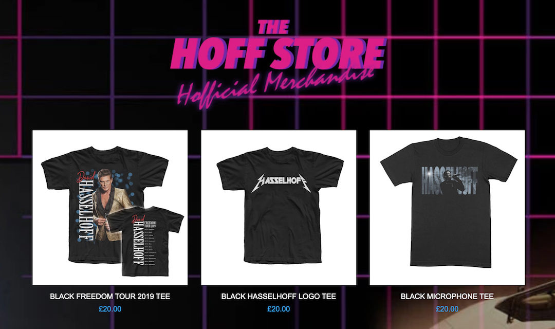 New Merchandise Available Now In The Hoff Shop!