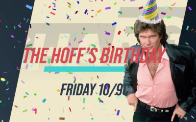 Charge TV Knight Rider Hoff Birthday Marathon Friday July 17th!