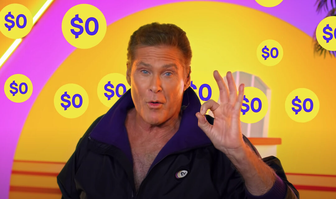 Watch David's New Infomercial For Pluto TV